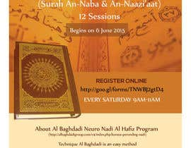#8 cho Design a Flyer for Al Quran Memorisation Program bởi HebaWadud