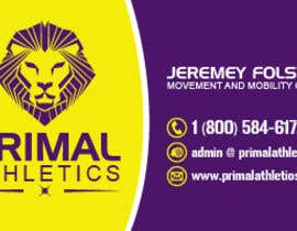 #39 for Design a business card with my logo and colours by flynnrider