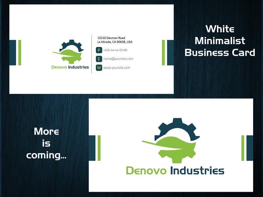 #61 for Develop a Corporate Identity for Denovo Industries by Olywebart