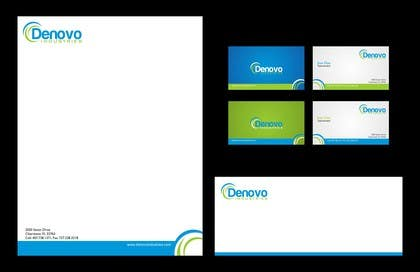 Logo Design Contest Entry #64 for Develop a Corporate Identity for Denovo Industries