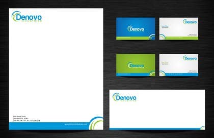 Logo Design Contest Entry #78 for Develop a Corporate Identity for Denovo Industries