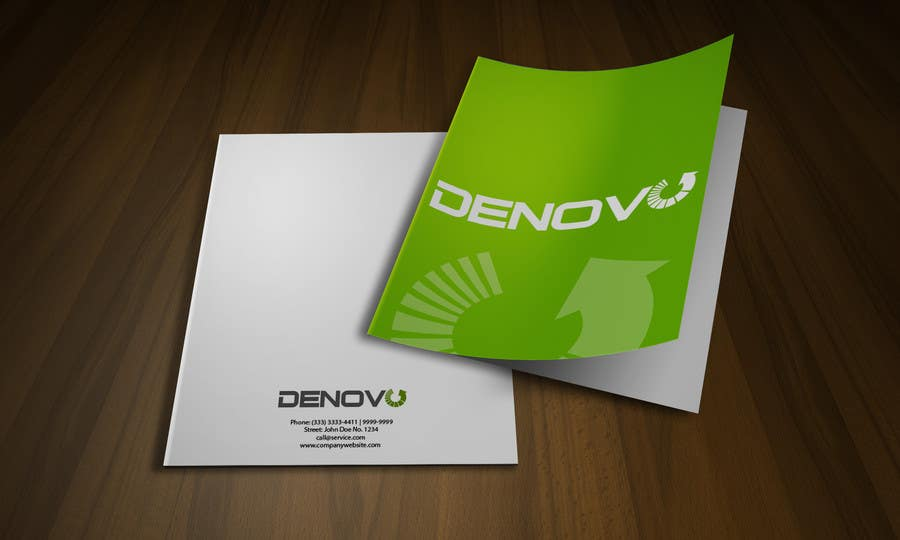 #58 for Develop a Corporate Identity for Denovo Industries by rogeriolmarcos