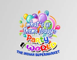 nº 27 pour Party1World needs a CORPORATE Identity LOGO. par alidicera