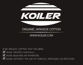 #1 cho Create Print and Packaging Designs label for Organic Japanese Cotton bởi Fazy211995