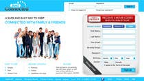 Graphic Design Contest Entry #49 for Graphic Design for Social Network Website sign up page