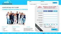 Graphic Design Contest Entry #48 for Graphic Design for Social Network Website sign up page