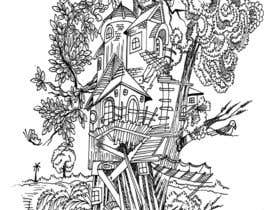 #10 for A Coloring Book of Tree Houses by Rahulbajad