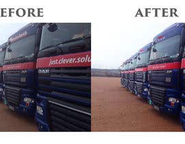 #13 cho Alter some images - add logo on trucks bởi imagencreativajp