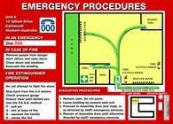 Illustration Entri Peraduan #4 for emergency evacuation procedure