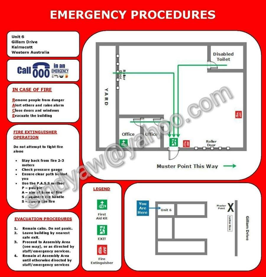 Penyertaan Peraduan #5 untuk emergency evacuation procedure