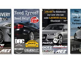 #8 for Design 4 Banners for Alloy Wheel Website af inventivegraphic
