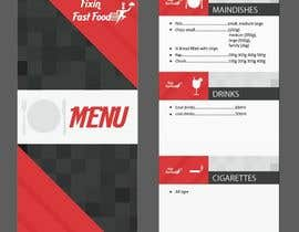 #34 for Design a Logo and Menu for Fixin Fast Food by vivekdaneapen