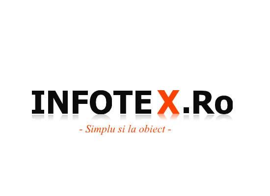 Bài tham dự cuộc thi #16 cho Design a Logo for new info portal INFOTEX.ro