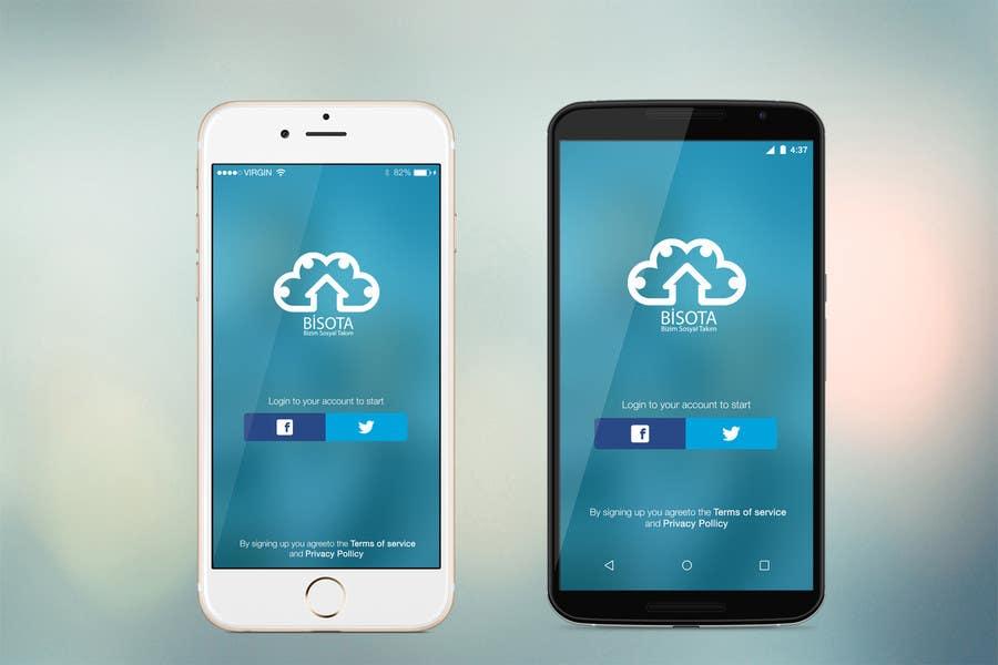 Bài tham dự cuộc thi #3 cho Cloud Drive App Screen Layout