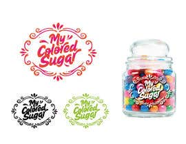 #188 para Design a Logo for Colored Sugar Business por marijoing