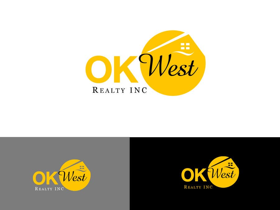 Contest Entry #265 for Logo Design for OK WEST Realty Inc.