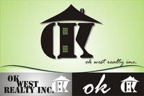 Graphic Design Contest Entry #110 for Logo Design for OK WEST Realty Inc.