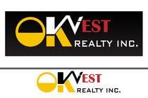Graphic Design Kilpailutyö #157 kilpailuun Logo Design for OK WEST Realty Inc.