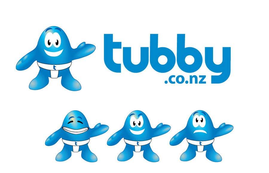 Kilpailutyö #49 kilpailussa Logo Design for Tubby
