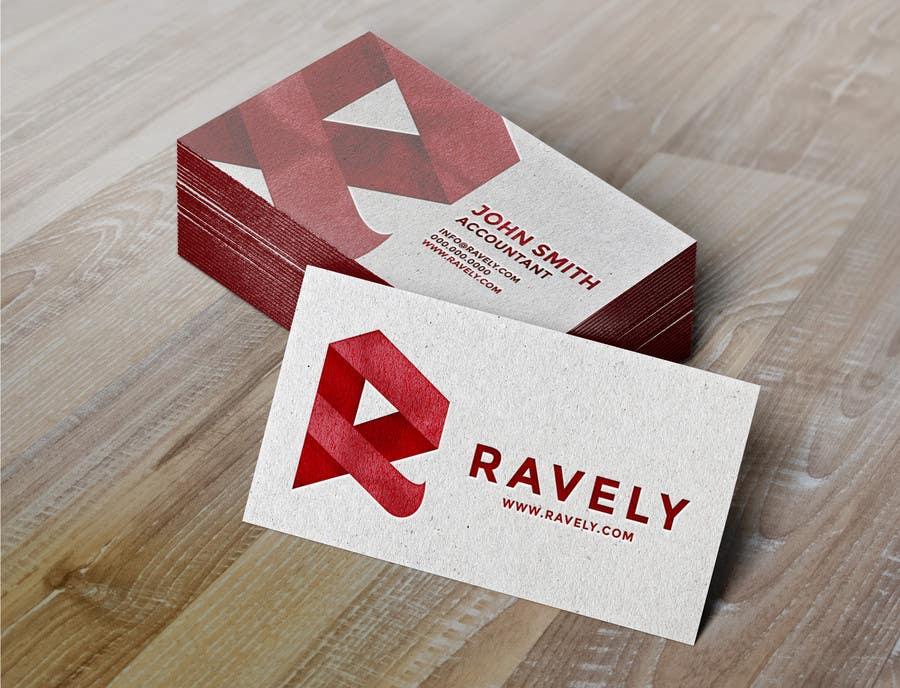 Konkurrenceindlæg #25 for Design some Stationery for Ravely