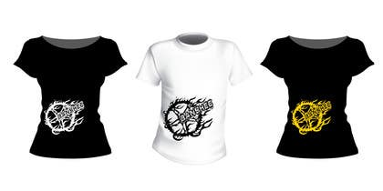 Nro 14 kilpailuun Motocross T-shirt käyttäjältä TangaFx