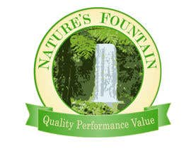 #5 for Design a Logo for Natures Fountain by angelazuaje