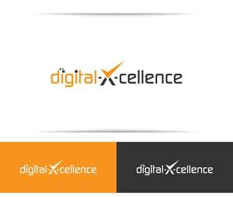 Nro 80 kilpailuun Design a Logo for Digital-X-Cellence marketing agency käyttäjältä SergiuDorin