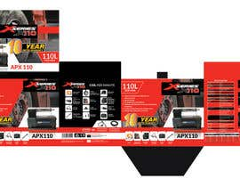 dexter000 tarafından DESIGN BOX ARTWORK FOR PORTABLE AIR COMPRESSORS (x4). MOST CONTENT PROVIDED. için no 11