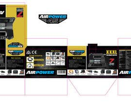 emorej tarafından DESIGN BOX ARTWORK FOR PORTABLE AIR COMPRESSORS (x4). MOST CONTENT PROVIDED. için no 18