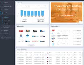 nº 13 pour Responsive USER INTERFACE design for an affiliate network par SadunKodagoda
