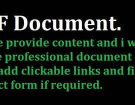 mabbasalee tarafından Design a 5 page PDF için no 6