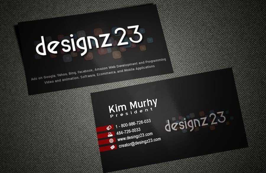 Kilpailutyö #40 kilpailussa Business Cards for marketing agency