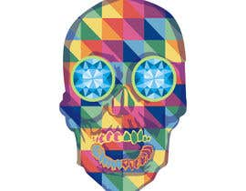 #8 untuk Create POP ART Skull With Diamond Eyes oleh imagencreativajp