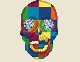 #5 untuk Create POP ART Skull With Diamond Eyes oleh sanaakram161