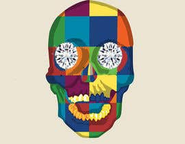 #6 untuk Create POP ART Skull With Diamond Eyes oleh sanaakram161