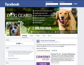 #26 untuk Design a Facebook Cover Graphic for Dog Business oleh massoftware