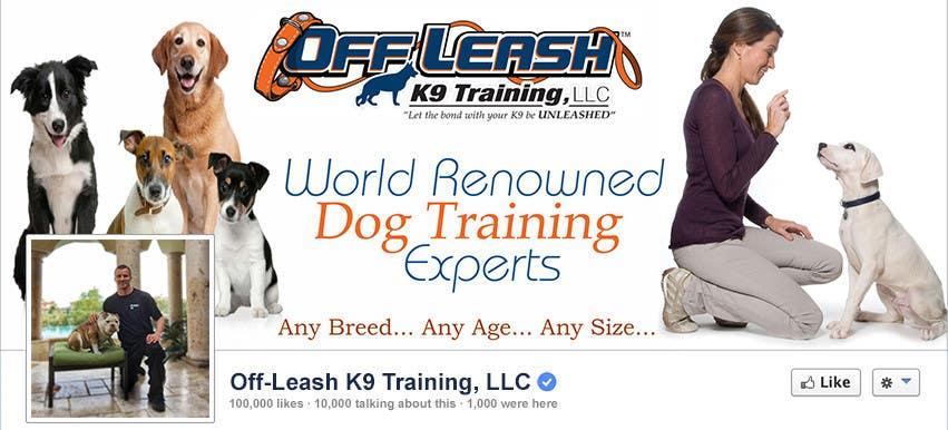 Kilpailutyö #29 kilpailussa Design a Facebook Cover Graphic for Dog Business
