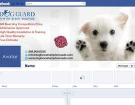 #23 untuk Design a Facebook Cover Graphic for Dog Business oleh silvi86