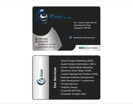 #3 para Design some Business Cards for iConz Pte Ltd por saliyachaminda