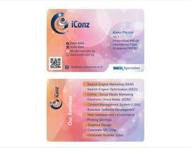 #8 for Design some Business Cards for iConz Pte Ltd af saliyachaminda