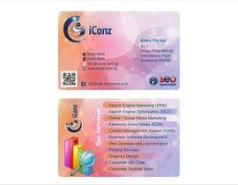 #9 para Design some Business Cards for iConz Pte Ltd por saliyachaminda