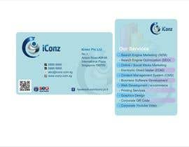 #10 for Design some Business Cards for iConz Pte Ltd af saliyachaminda