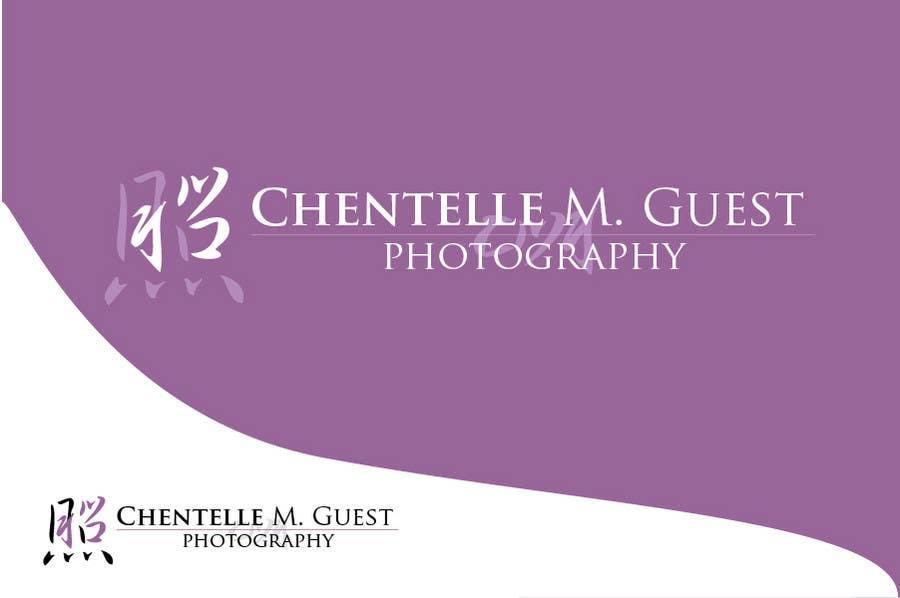 Kilpailutyö #                                        97                                      kilpailussa                                         Graphic Design for Chentelle M. Guest Photography