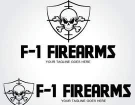 #32 para Design a Logo for F-1 Firearms por rosatapia