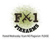 Graphic Design Contest Entry #41 for Design a Logo for F-1 Firearms