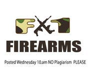 Graphic Design Contest Entry #43 for Design a Logo for F-1 Firearms