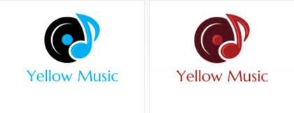 #37 untuk Design a Logo for Yellow Music oleh kamitiger07