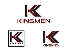 Nro 41 kilpailuun Design a Logo for Kinsmen T-Shirt Company käyttäjältä adryaa