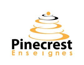 #196 for Logo Enseignes Pinecrest by saledj2010
