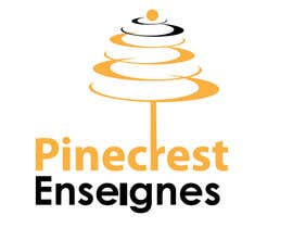#194 for Logo Enseignes Pinecrest av saledj2010